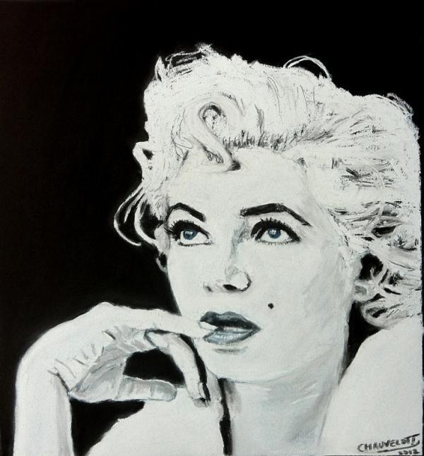 Marilyn Monroe por maximuslevrai